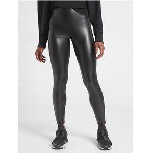 NWT Athleta Delancey Gleam Tight Solid Black